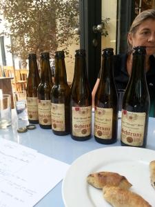 A few of the Schtrunz beers