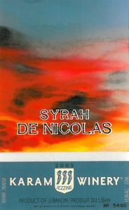 CROPKaram Winery Syrah de Nicolas1