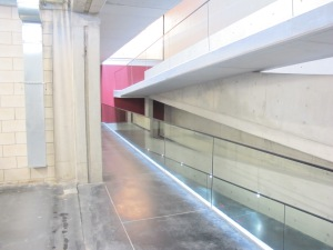 The ultra modern design of IXSIR's underground winery